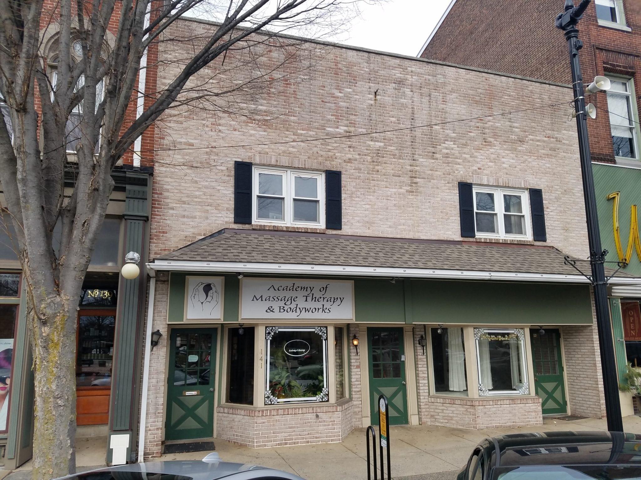 pottstown massage school