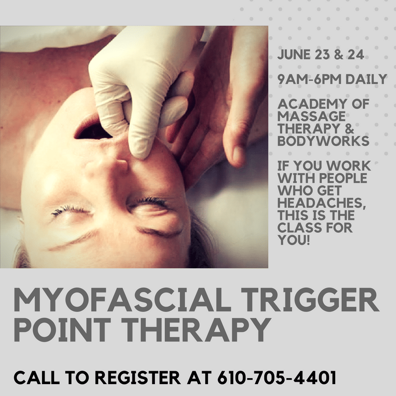 Myofascial Trigger Point Therapy for the TMJ and Neck with a Focus on Headaches