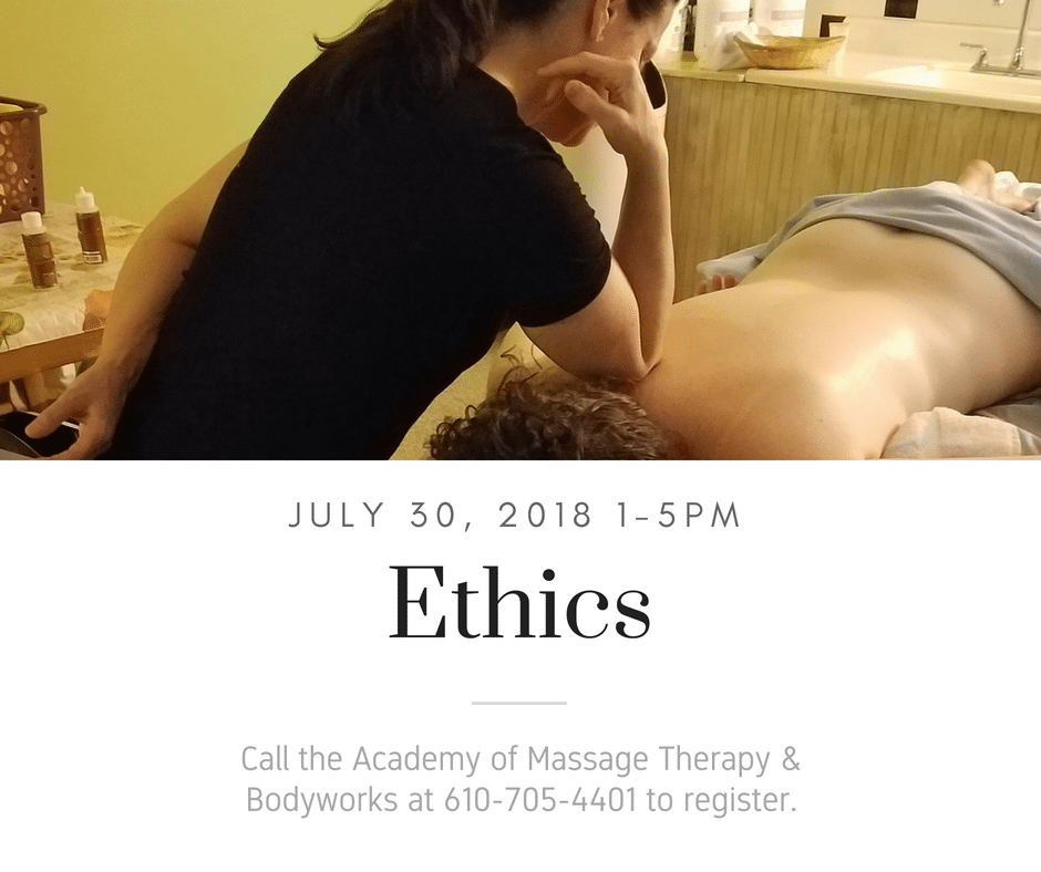 Ethics - July 30