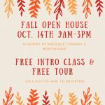 Open House Oct 14