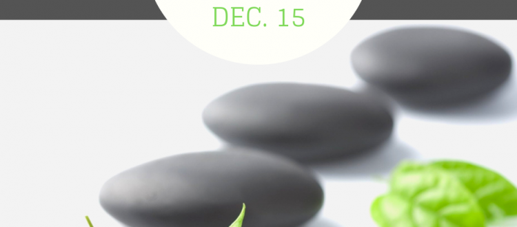 Hot Stone Massage Dec. 15