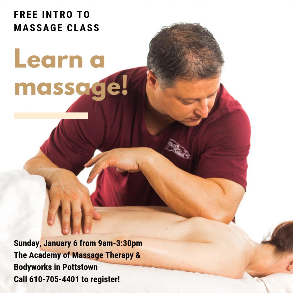 Free Massage Class