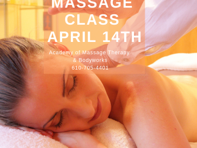 Free Massage Class April 14th